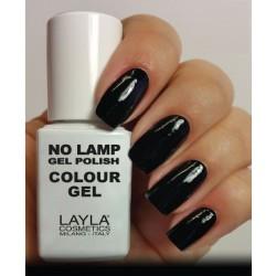 SMALTO NO LAMP GEL POLISH LAYLA/12 CARBON BLACK