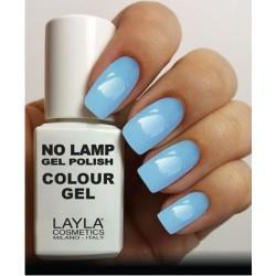 SMALTO NO LAMP GEL POLISH LAYLA/18 BREEZY BLUE