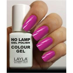 SMALTO NO LAMP GEL POLISH LAYLA/23 FLUO PURPLY