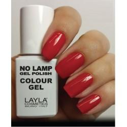 SMALTO NO LAMP GEL POLISH LAYLA/8 RED VEGAS