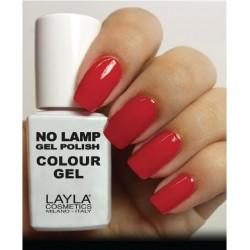 SMALTO NO LAMP GEL POLISH LAYLA/9 LIVE RED