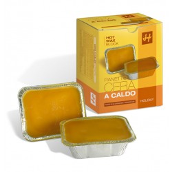 CERA A CALDO IN PANETTO GIALLA 2x500 ml -  HOLIDAY