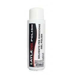 SOLVENTE PER RIMOZIONE GEL POLISH 500 ml - LAYLA