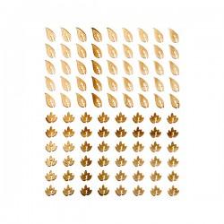 DECORAZIONI ADESIVE GOLD - PEGGY SAGE