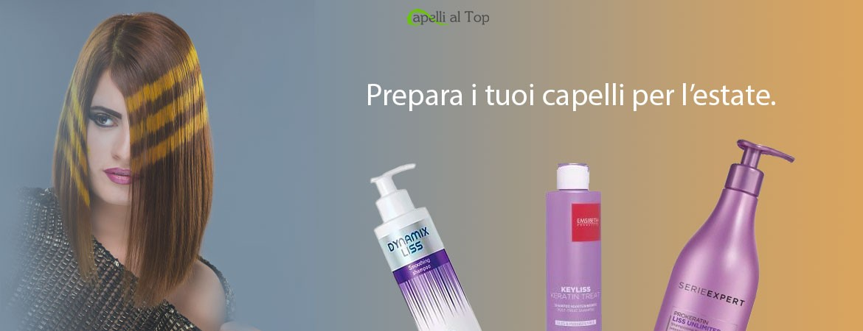 Prepara i tuoi capelli per l'estate!